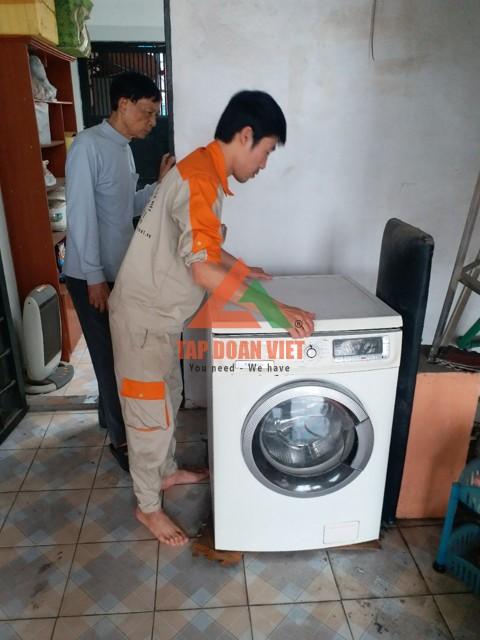 Thơ bảo dưỡng máy giặt tại nhà