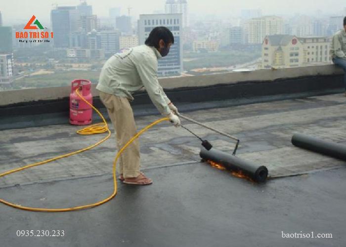 Chống thấm mái nhà chất lượng triệt để