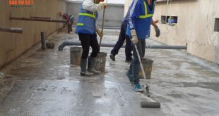 Dịch vụ chống thấm mái nhà của công ty Bảo trì số 1
