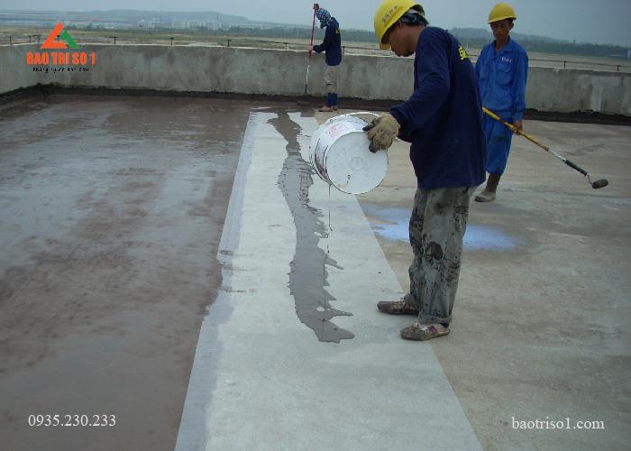 Chống thấm sân thượng với vật liệu chất lượng